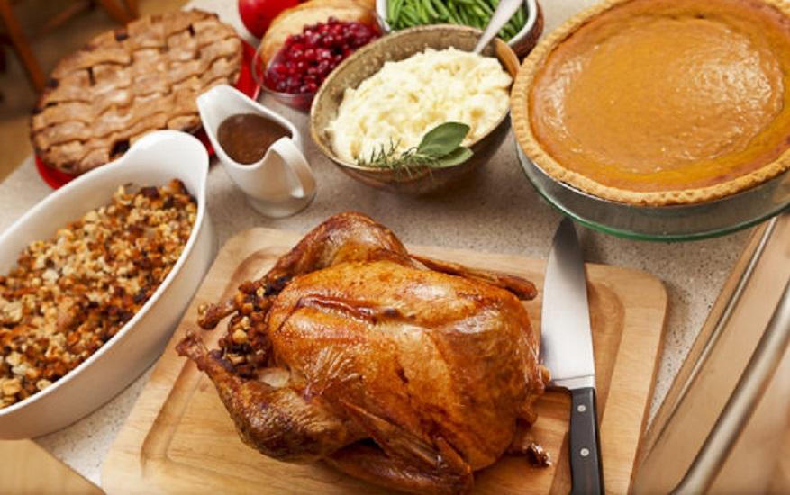 thanksgiving-dinner-feast-food-turkey
